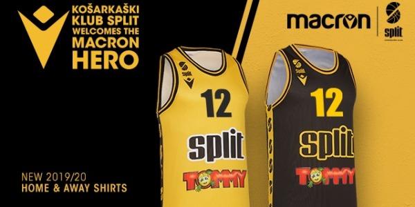 MACRON in K.K.SPLIT sta predstavila dres za sezono 2019/2020