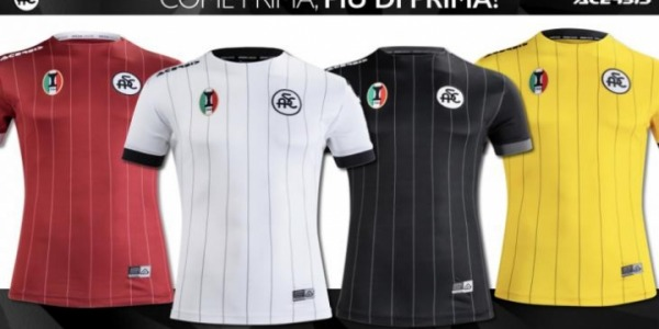 Nostalgičen navdih za majice Spezia Calcio